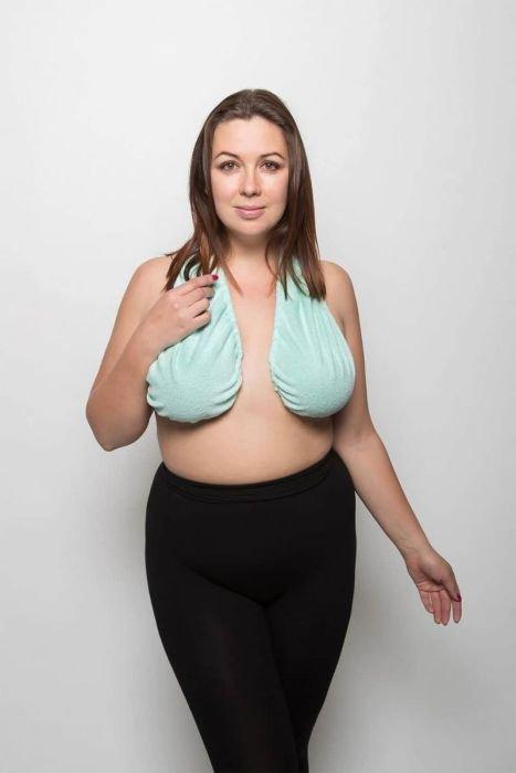 Гамак-полотенце для груди набирает популярность среди женщин (17 фото)
