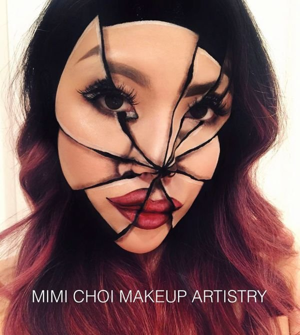 Мими Чой создает оптические иллюзии при помощи макияжа (30 фото)
