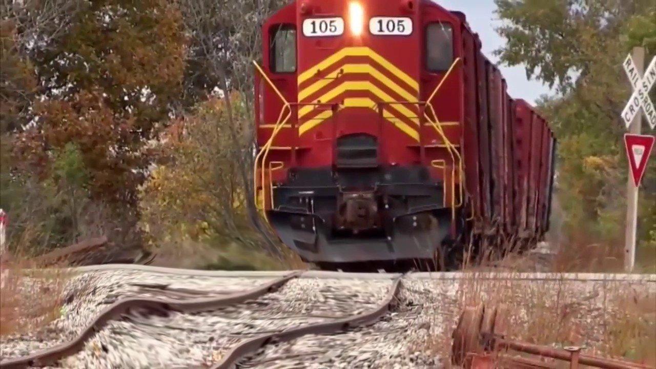 Прекрасная подборка европейских и американских поездов
