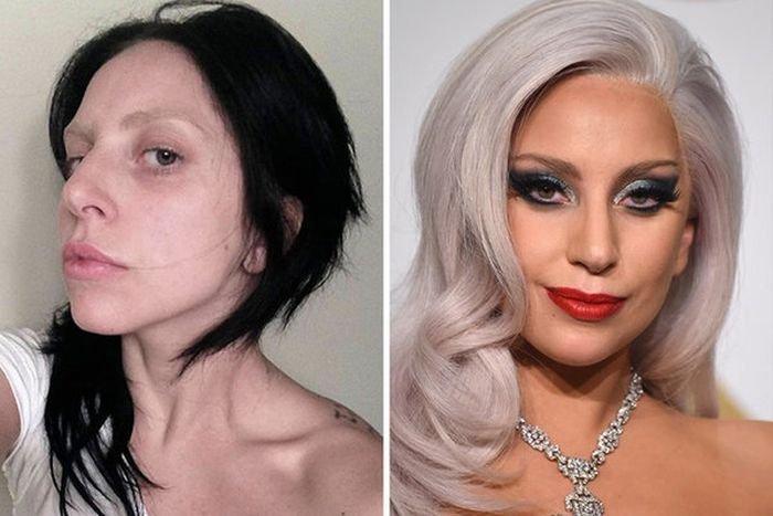 Звезды без макияжа