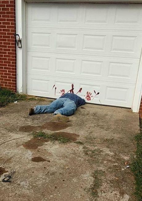 Полиция США попросила перестать звонить с сообщениями об обезглавленном человеке (3 фото)