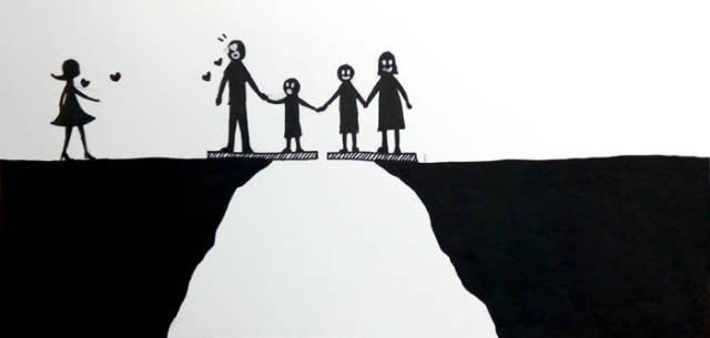 К чему может привести развод (7 картинок)