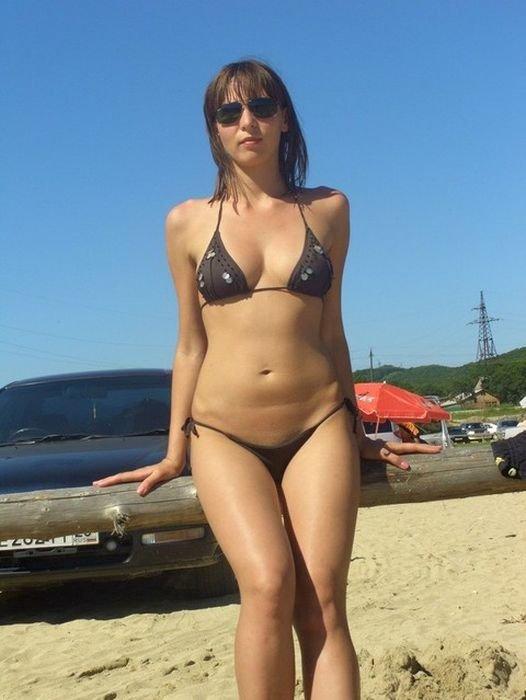 Частное фото жен в купальнике #5