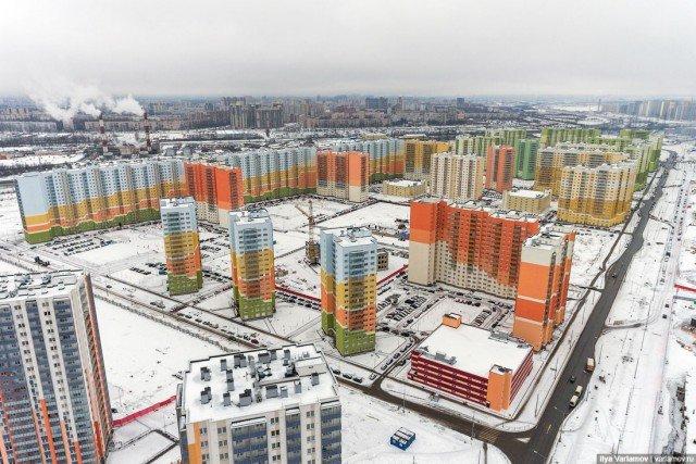 Типичное гетто на окраине Санкт-Петербурга (25 фото)