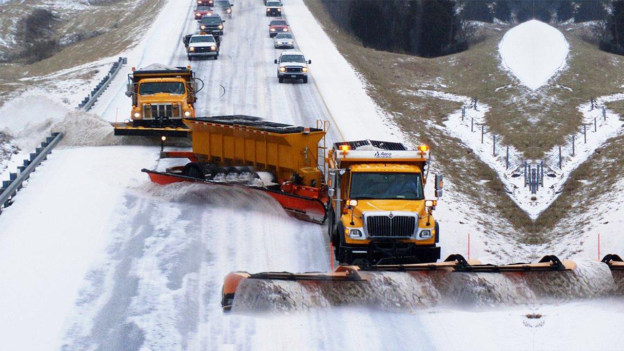 Современные машины для уборки снега