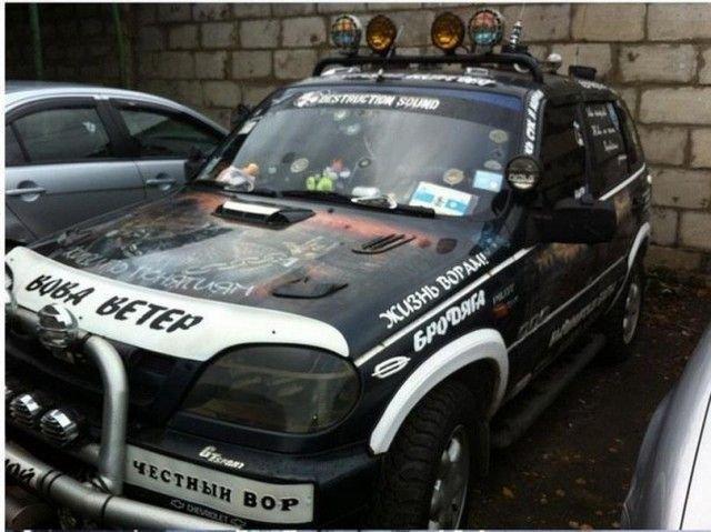 Самый блатной автомобиль (4 фото)