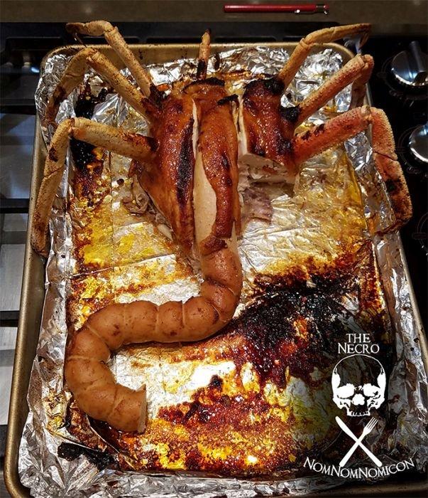 Жуткое блюдо на День благодарения (11 фото)
