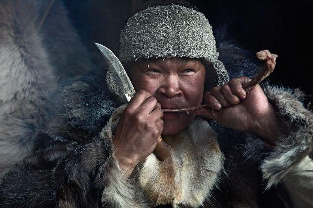 Пища народов Севера (2 фото)