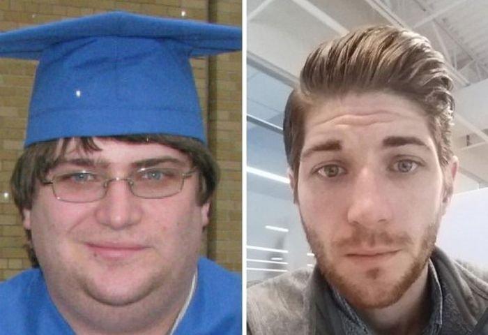 Потеря веса и преображение лиц (20 фото)