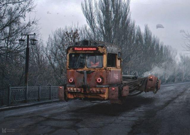 Россия в 2046 году (5 фото)