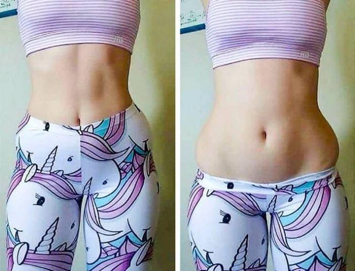 Девушки развеивают миф об идеальных телах в Instagram (22 фото)