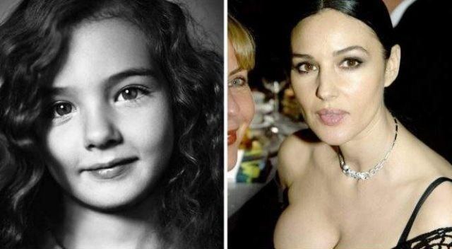 Дети знаменитых красавиц (15 фото)