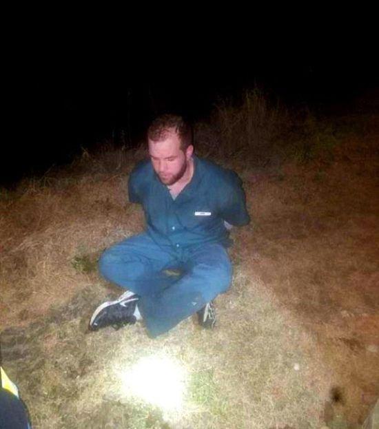 Сбежавший заключенный был задержан при необычных обстоятельствах (3 фото)