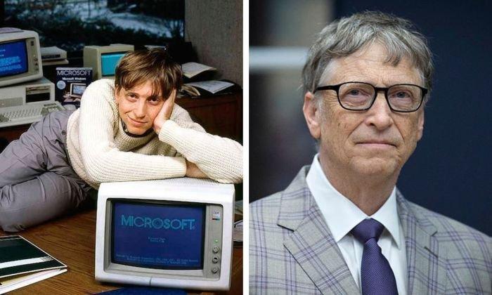 Самые богаты люди планеты в начале своей карьеры и сейчас (10 фото)
