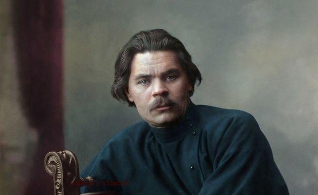 Колоризированные фото русских поэтов и писателей (6 фото)