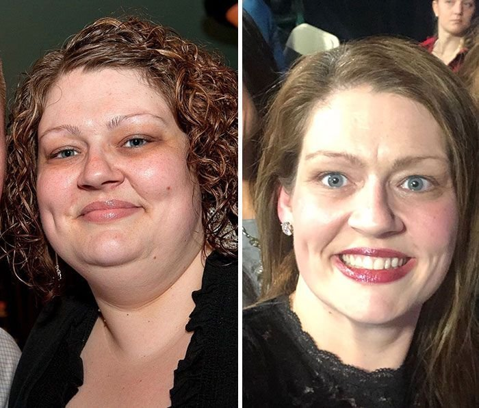 Женщина похудела почти на 70 кг, используя три простых правила (12 фото)