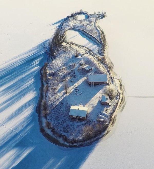 Сказочный финский островок Котисаари (4 фото)