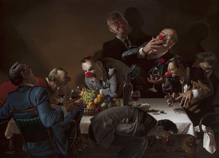 Недостатки современного общества в работах Герхарда Хадерера (23 фото)