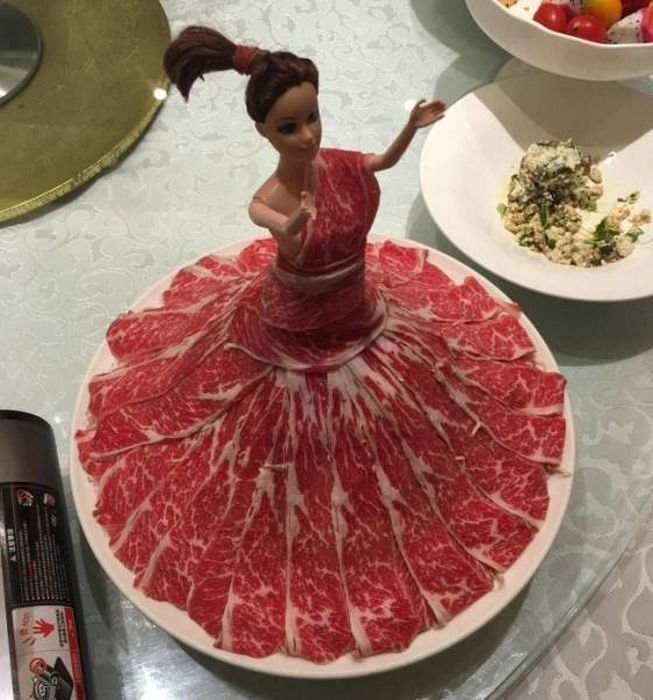 Креативная подача блюд в кафе и ресторанах (31 фото)
