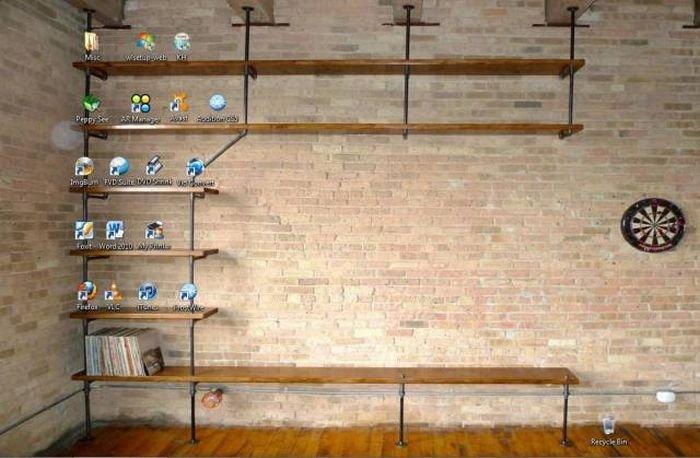 Оригинальное оформление рабочих столов ПК (17 фото)