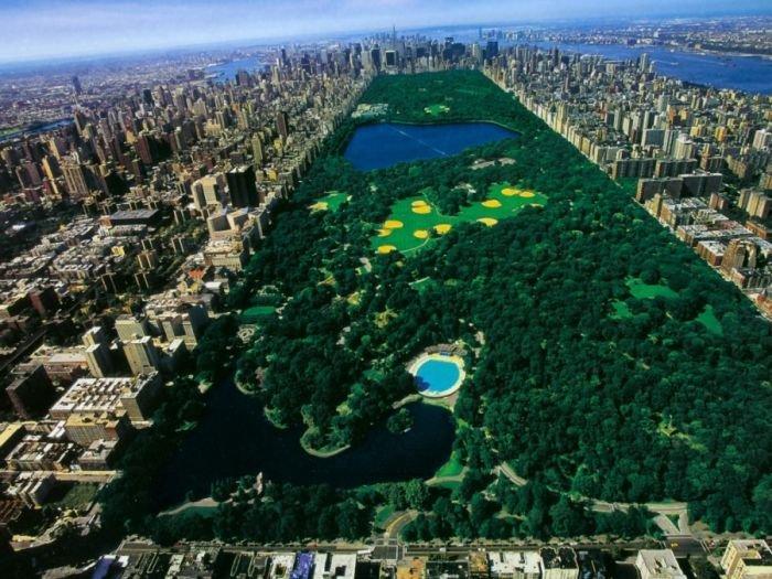 Центральный парк Нью-Йорка во время Великой депрессии (2 фото)