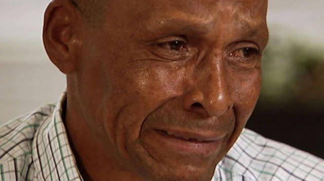 Лица несправедливо осужденных мужчин, вышедших из тюрьмы (14 фото)