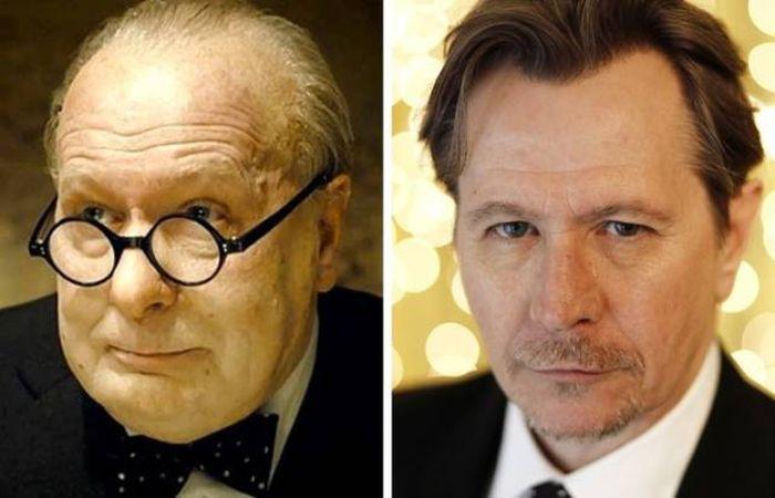 Самые невероятные роли и образы известных актеров (16 фото)