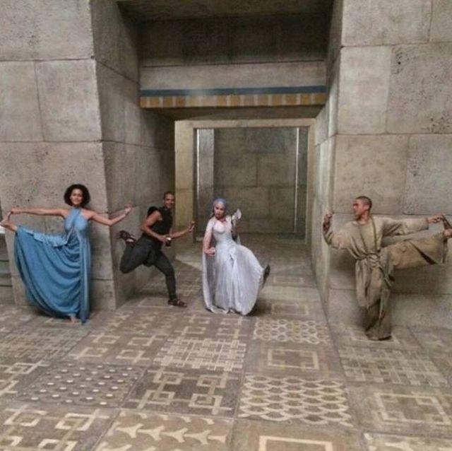 Что осталось за кадром «Игры престолов» (14 фото + видео)