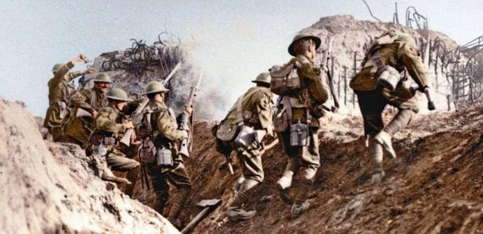 Интересные фото Первой мировой войны (41 фото)