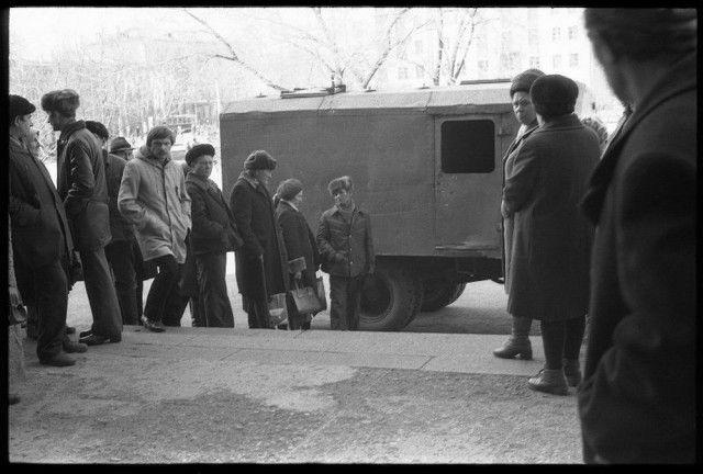 Последнее десятилетие СССР на фото Владимира Воробьева (70 фото)