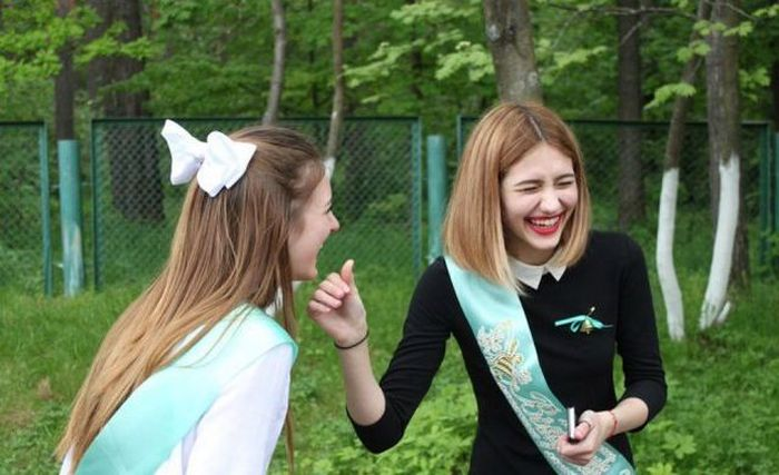 Современные выпускницы (30 фото)