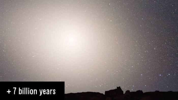 Столкновение Млечного Пути с галактикой Андромеды (5 фото)