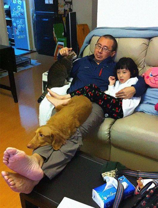 Китайская семья на протяжении 10 лет делает одно и то же фото (7 фото)
