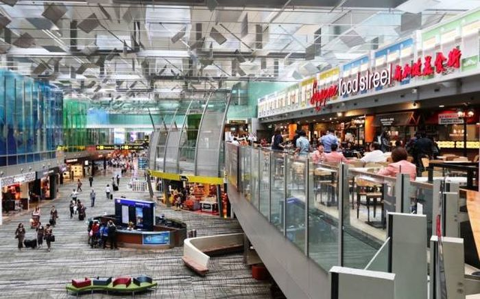 Аэропорт Чанги в Сингапуре, который поразит вас своей инфраструктурой (41 фото)