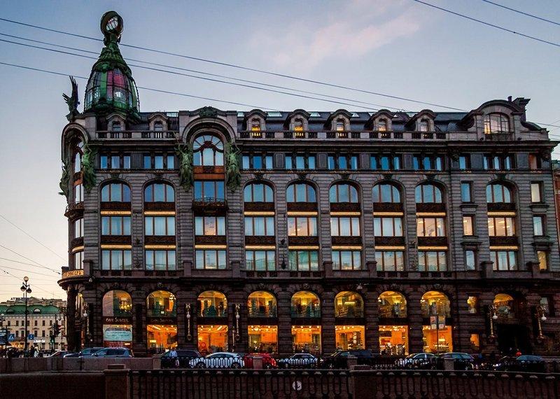Самые красивые здания Санкт-Петербурга