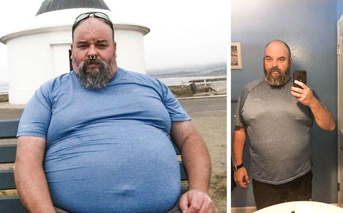 Люди, которые смогли сбросить лишний вес (20 фото)
