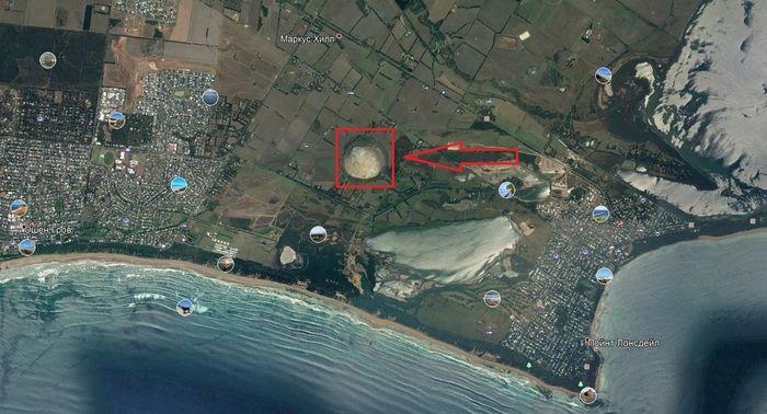 Находка на картах Google Earth (5 фото)