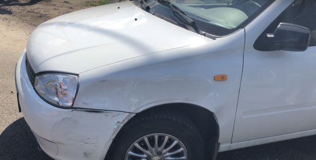 Блогеру сожгли автомобиль после публикации в сети ролика с места аварии (4 фото + 2 видео)