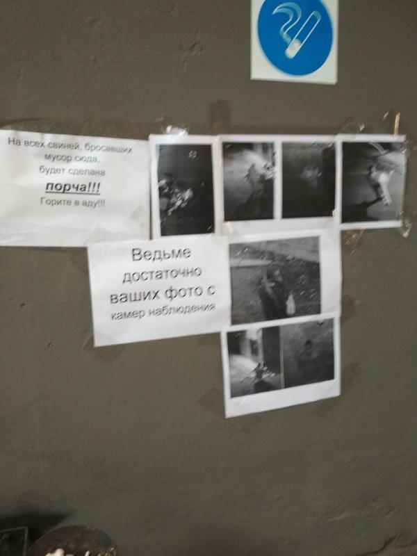 """Отличный способ борьбы с """"соседями-свиньями"""" (2 фото)"""