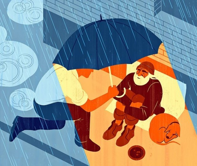 Минималистичные иллюстрации о современном обществе от Джои Гуидона (25 рисунков)