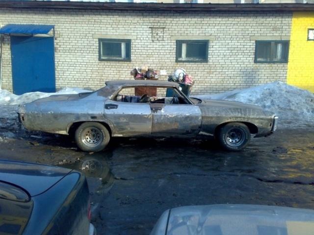 Восстановление Chevrolet Impala 1969 года (23 фото)