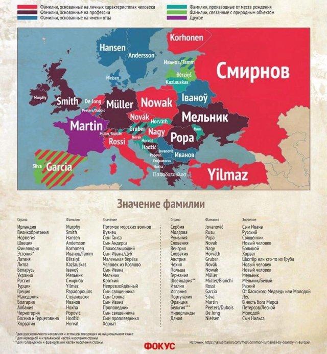 Инфографики обо всем на свете (11 фото)