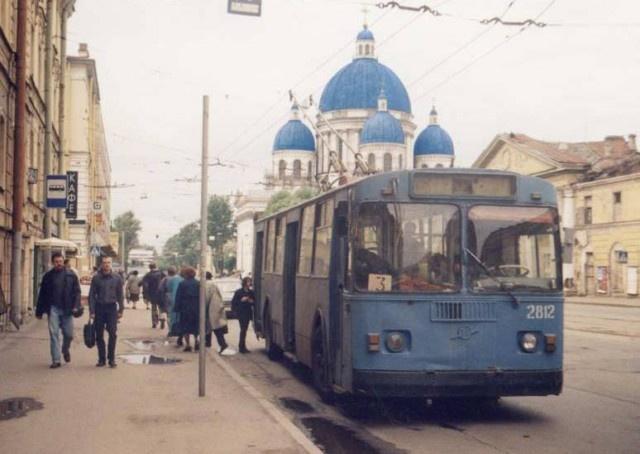 Петербург в 1990-е годы (46 фото)