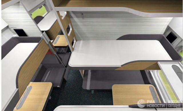 Как будут выглядеть новые плацкартные вагоны капсульного типа (6 фото)