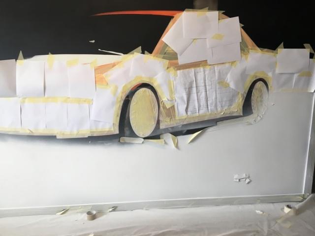 Реалистичный рисунок спорткара Mitsubishi Lancer Evo (18 фото)