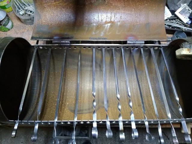 Самодельный мангал из баллона (24 фото)