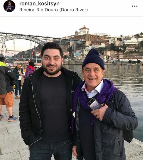 """Роман Косицын сделал фотографию """"незнакомца"""" на набережной в Португалии (4 фото)"""