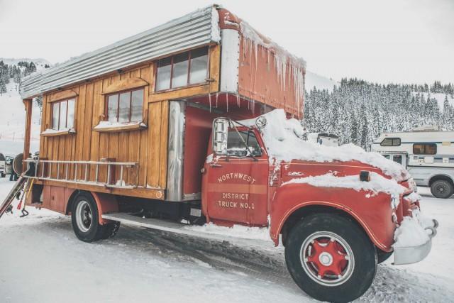 Необычная эстетика домов-грузовиков (27 фото)