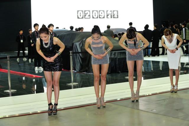 Привлекательные корейские девушки (34 фото)