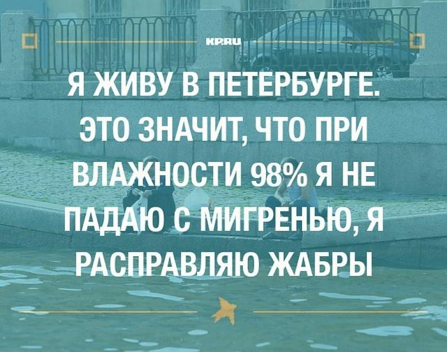 Юмор и шутки про Санкт-Петербург (27 фото)